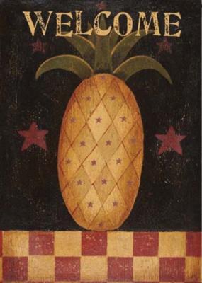 Americana Pineapple - Garden Flag by Toland