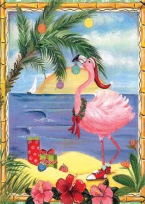 Fa La La Flamingo - Standard Flag by Toland