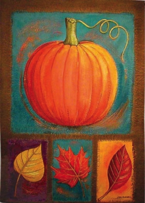 Autumn Delights - Standard Flag by Toland