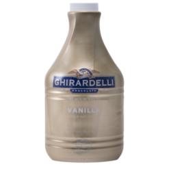 Ghirardelli Sauce - 64 fl. oz. Bottle: Vanilla