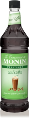 Monin Iced Coffee Concentrate - 1 Liter Plastic Bottle