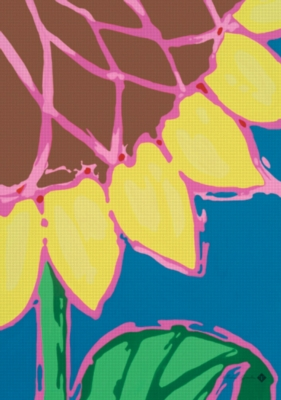Bright Sunflower - Garden Flag by Toland