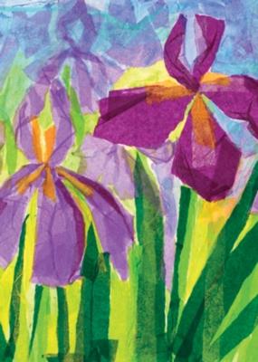 Iris Duet - Garden Flag by Toland