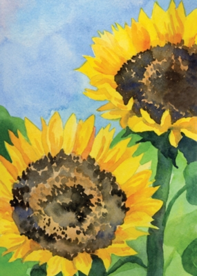 Sunflowers - Standard Flag by Toland