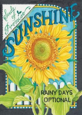 Sunshine Seeds - Garden Flag by Toland