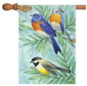 Birds of a Feather - Garden Flag by Toland