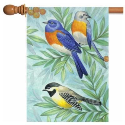 Birds of a Feather - Garden Flag by Toland