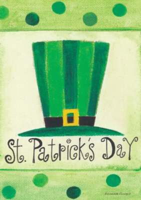 St Pat's Hat - Garden Flag by Toland