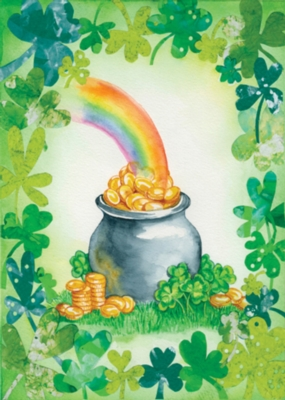 Pot of Gold - Standard Flag by Toland