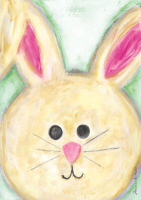Floppy Eared Bunny - Standard Flag by Toland