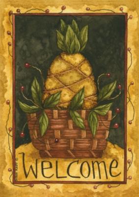 Pineapple Basket - Standard Flag by Toland