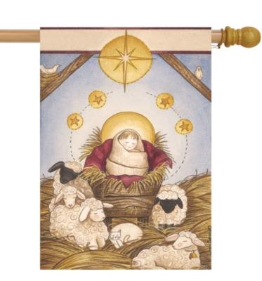 Nativity - Standard Flag by Toland