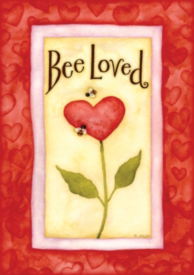 Bee Loved - Standard Flag by Toland
