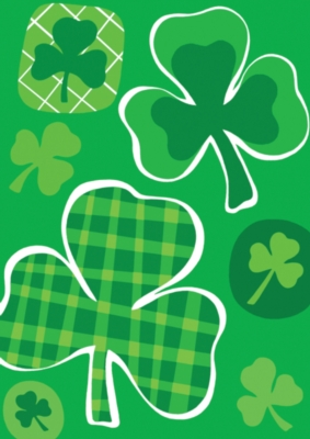 Lucky Clovers - Standard Flag by Toland
