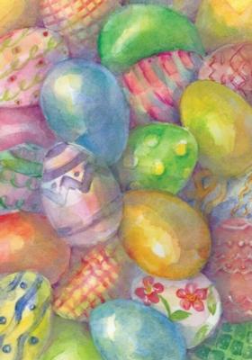 Easter Eggs - Garden Flag by Toland