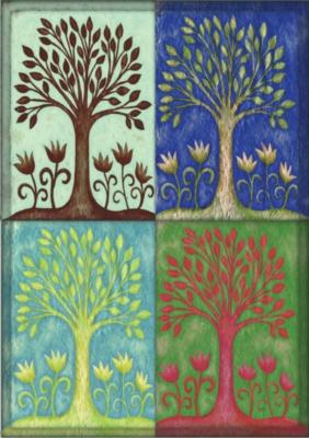 Seasons - Eco Friendly Standard Flag by Toland