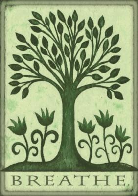 Breathe - Eco Friendly Garden Flag by Toland