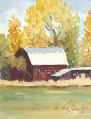 Red Barn - Standard Flag by Toland