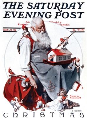 Santa & Elves Cover - Standard Flag by Toland
