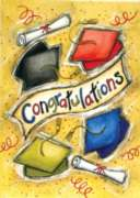 Congratulations - Garden Flag by Toland
