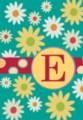Monogram Whimsey E - Standard Flag by Toland