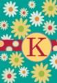 Monogram Whimsey K - Standard Flag by Toland