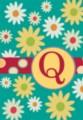 Monogram Whimsey Q - Standard Flag by Toland