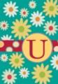 Monogram Whimsey U - Standard Flag by Toland
