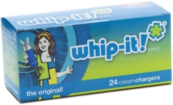 Whip-it! Cream Charger (Screw Valve) - 600ct Case