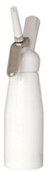 Whip-it! Cream Whipper (Screw Valve) - .5L Plastic (White)