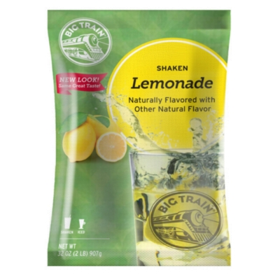 Big Train Shaken Lemonade in a Bag - 2 lb. Bulk Bag