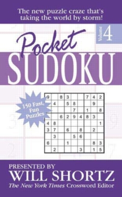 Paperback - Pocket Sudoku by Will Shortz, Volume 4