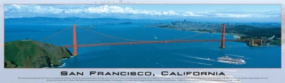 Panoramic Jigsaw Puzzles - San Francisco, California