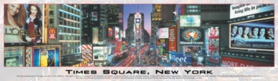Panoramic Jigsaw Puzzles - Times Square, New York