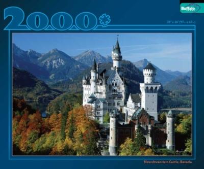 Neuschwanstein Castle - 2000pc Jigsaw Puzzle by Buffalo Games