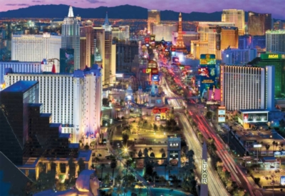 Jigsaw Puzzles - Vegas At Night
