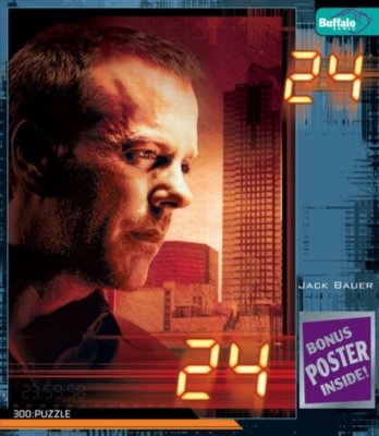 24: Jack Bauer - 300pc Jigsaw Puzzle by Buffalo Games