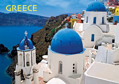 Greece - 300pc Large Format Jigsaw Puzzle by Buffalo Games