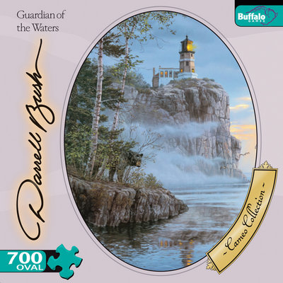 Guardian of Waters - 750pc Oval Jigsaw Puzzle by Buffalo Games