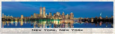 New York City, New York - 750pc Panoramic Jigsaw Puzzle by Buffalo Games