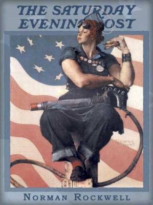 Norman Rockwell: Rosie the Riveter - 1000pc Jigsaw Puzzle by Buffalo Games