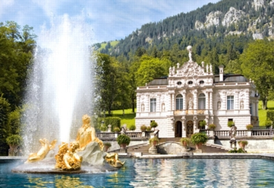 Linderhof Palace, Germany - 1000pc Jigsaw Puzzle by Castorland