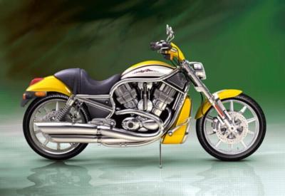 Harley-Davidson Street Rod - 1000pc Jigsaw Puzzle by Castorland