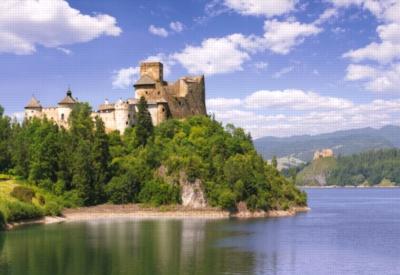 Dunajec Castle, Niedzica, Poland - 1000pc Jigsaw Puzzle by Castorland