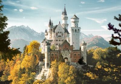 Neuschwanstein, Germany - 1500pc Jigsaw Puzzle by Castorland