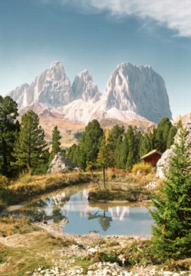 Dolomites, Italy - 1500pc Jigsaw Puzzle by Castorland