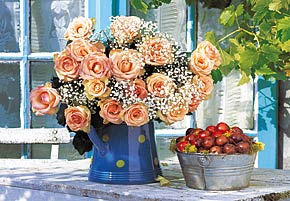 Bunch of Roses - 1500pc Jigsaw Puzzle by Castorland