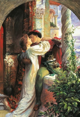 Sir Frank Dicksee: Romeo and Juliet - 1500pc Jigsaw Puzzle by Castorland