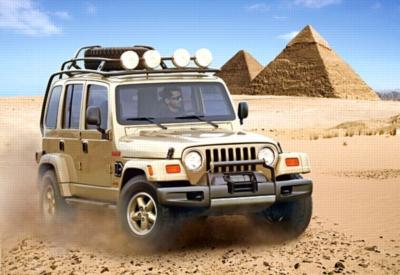 Jeep dakar -Concept Car - 1500pc Jigsaw Puzzle by Castorland