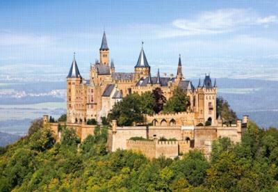 Hohenzollern Castle, Germany - 1500pc Jigsaw Puzzle by Castorland